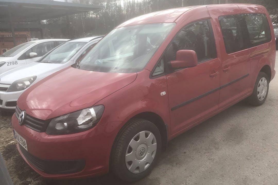 Volkswagen Caddyn halpa vuokraus Isofix-kiinnikkeetn kanssa lähellä 00750 Helsinki.