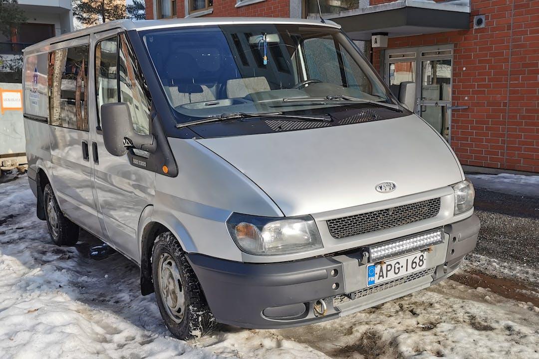 Ford Transitn lalpa vuokraus lähellä 33720 Tampere.