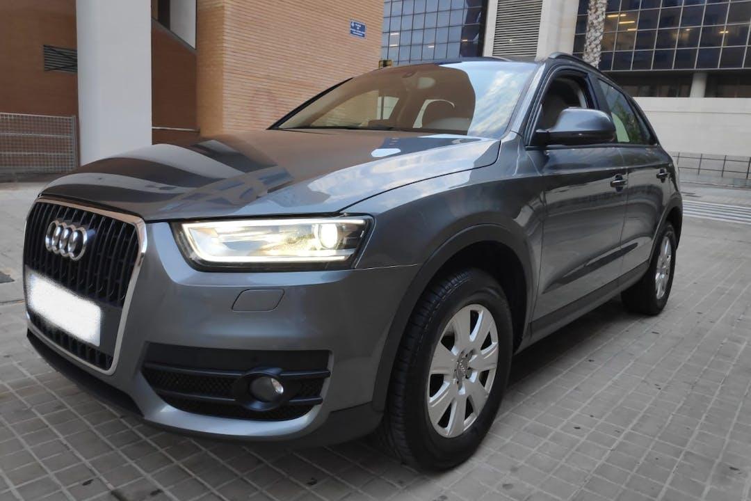 Alquiler barato de Audi Q3 cerca de 46013 València.