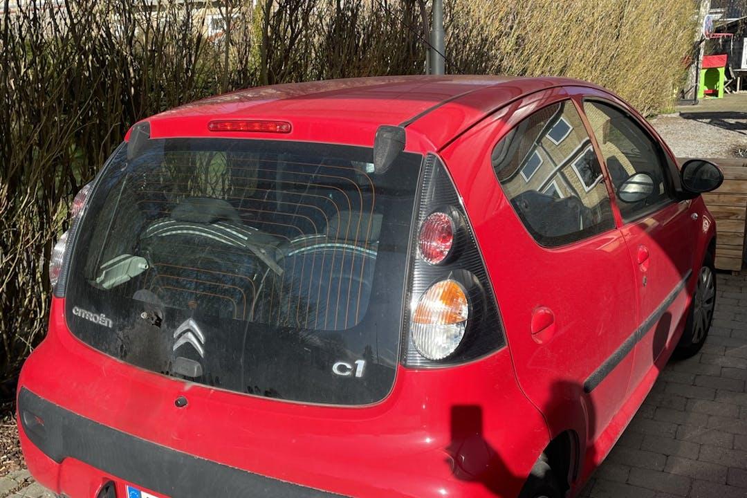 Billig billeje af Citroën C1 nær 2820 Gentofte.