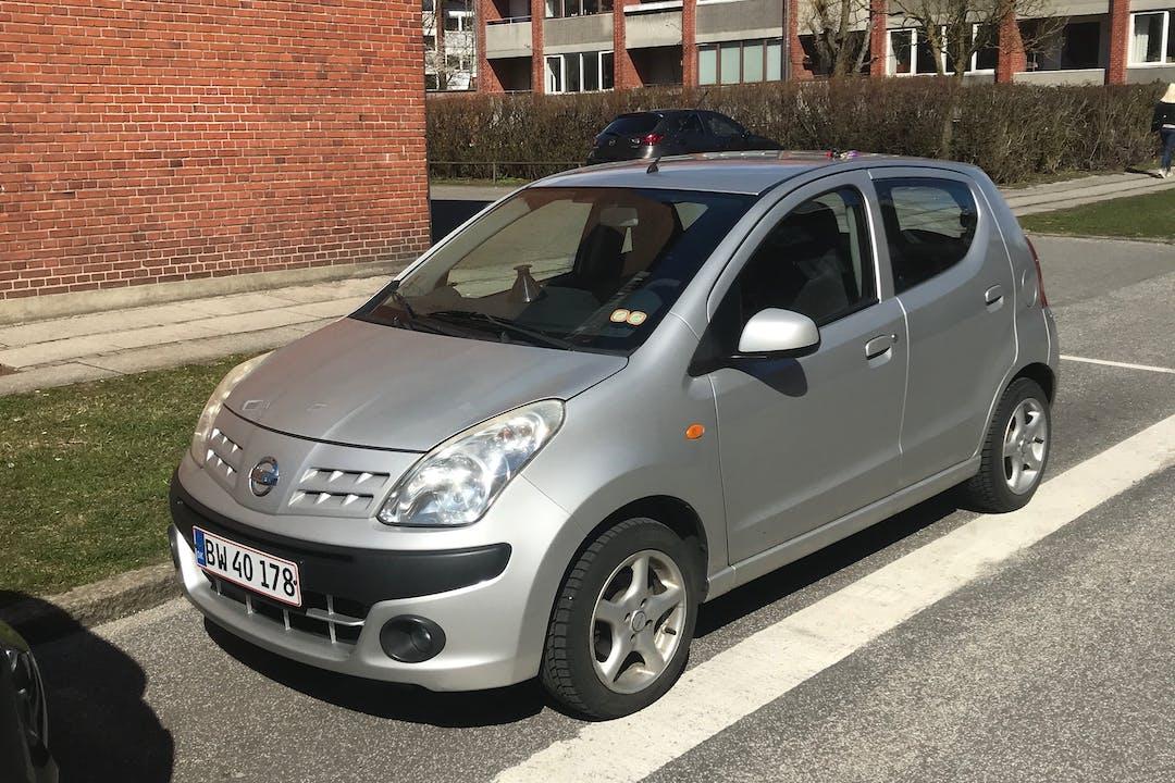 Billig billeje af Nissan Pixo nær 8000 Aarhus.