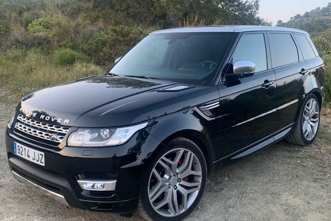 Alquiler barato de Land Rover Range Rover Sport cerca de 29602 Marbella.