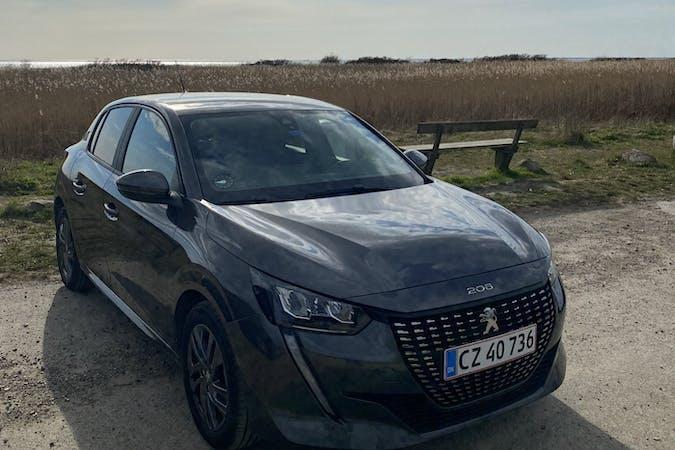 Billig billeje af Peugeot 208 med Isofix beslag nær 2300 København.