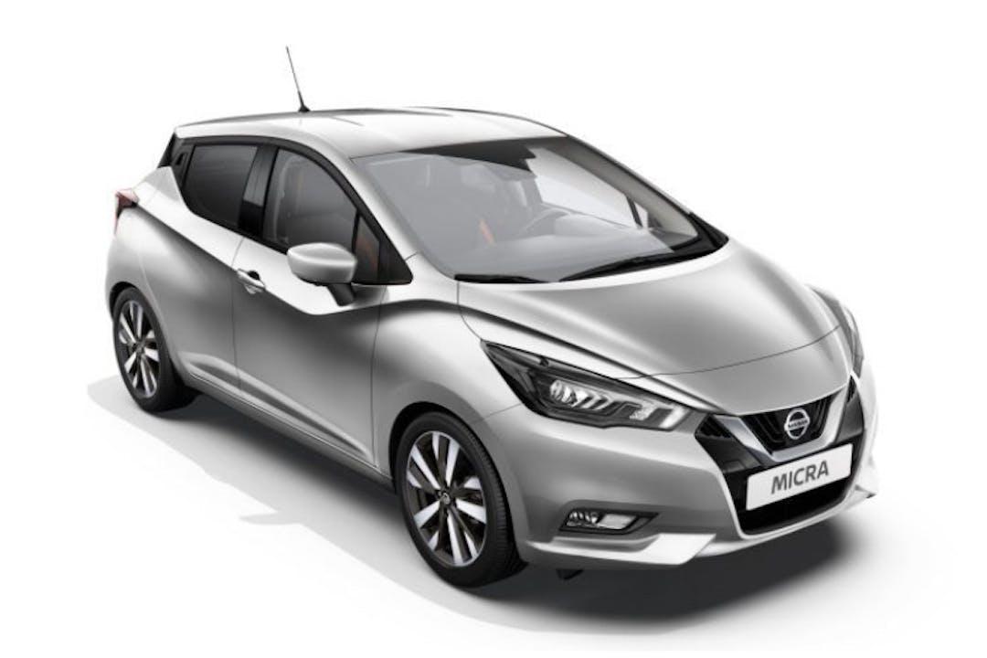 Nissan Micran halpa vuokraus GPSn kanssa lähellä  Vantaa.