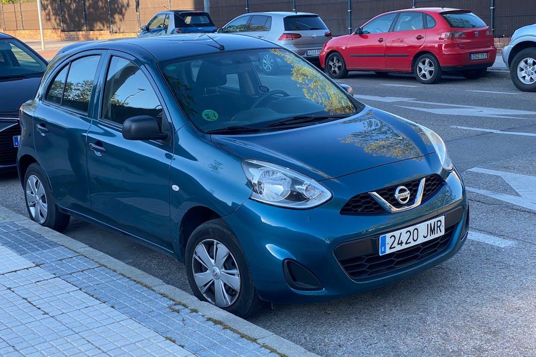 Alquiler barato de Nissan Micra cerca de 28660 Boadilla del Monte.