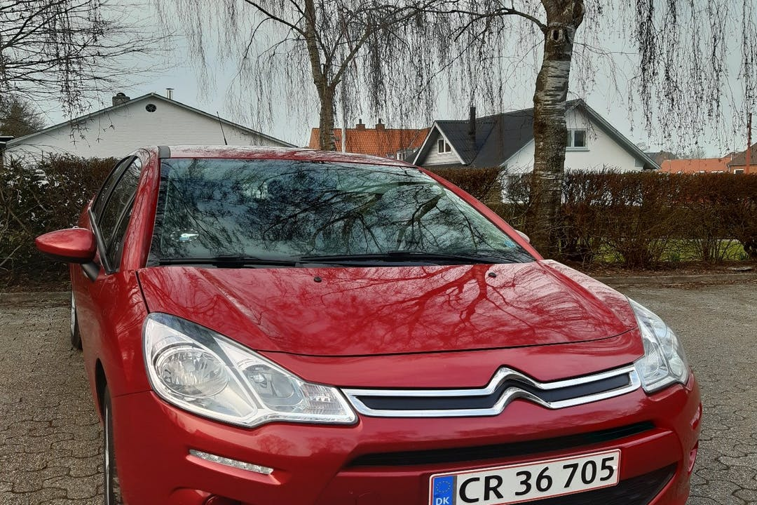 Billig billeje af Citroën C3 med Aircondition nær 7600 Struer.