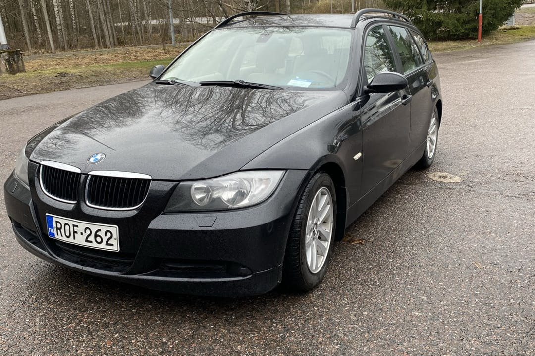 BMW 3 Seriesn halpa vuokraus Vetokoukkun kanssa lähellä 02320 Espoo.