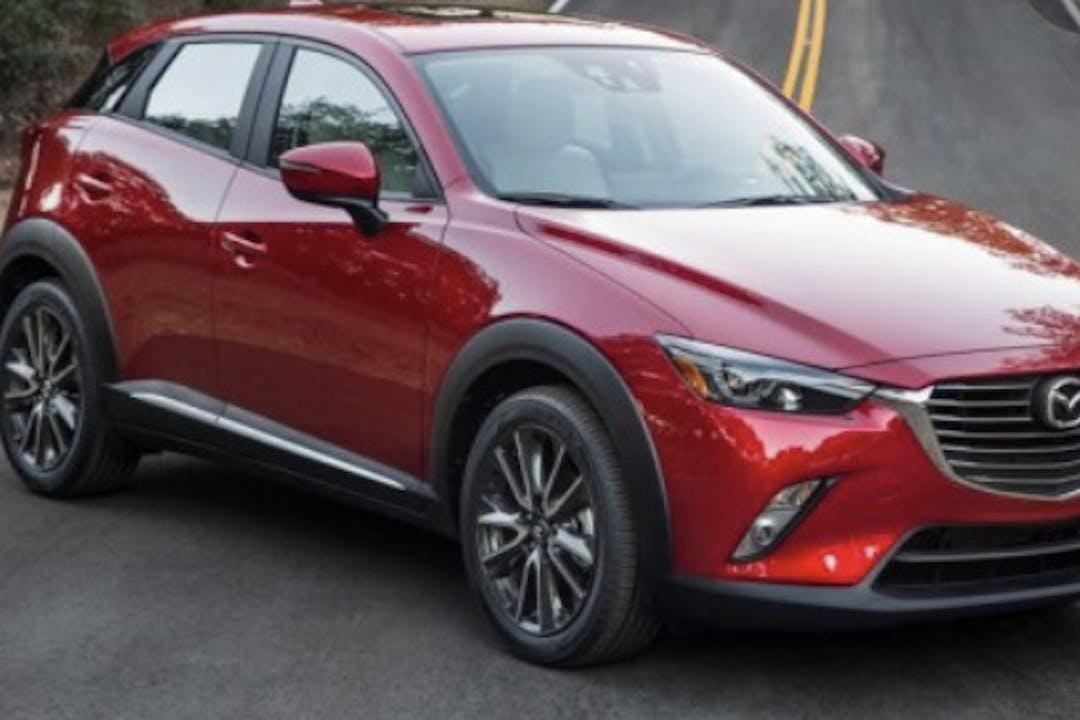 Alquiler barato de Mazda CX-3 con equipamiento GPS cerca de 28794 Guadalix de la Sierra.