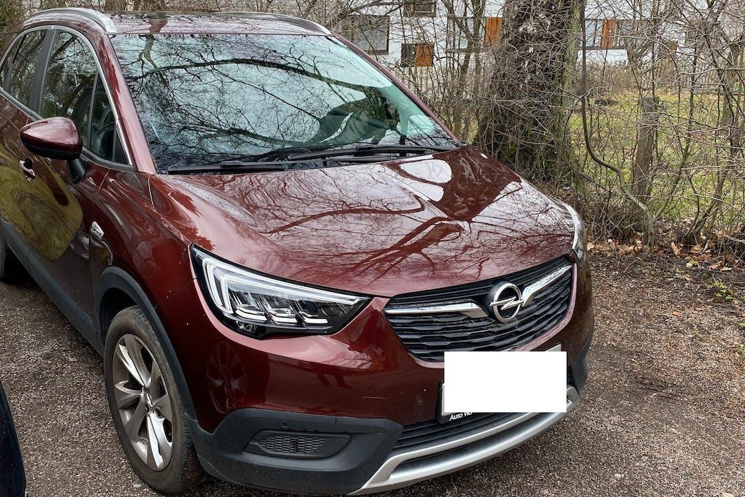 Opel Crossland Xn halpa vuokraus GPSn kanssa lähellä 00200 Helsinki.