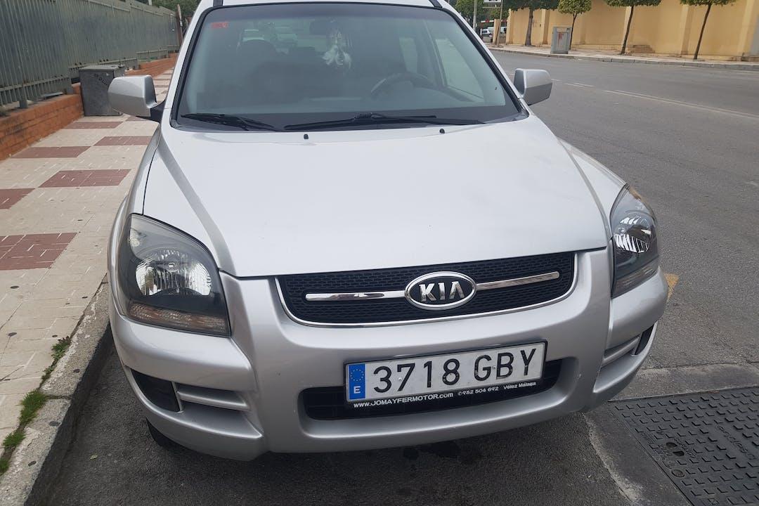 Alquiler barato de Kia Sportage con equipamiento Bluetooth cerca de 29002 Málaga.