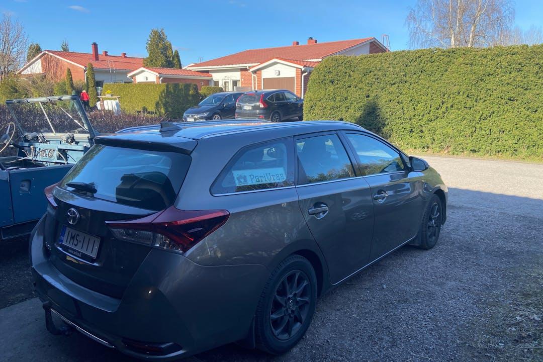 Toyota Aurisn halpa vuokraus GPSn kanssa lähellä 04420 Järvenpää.