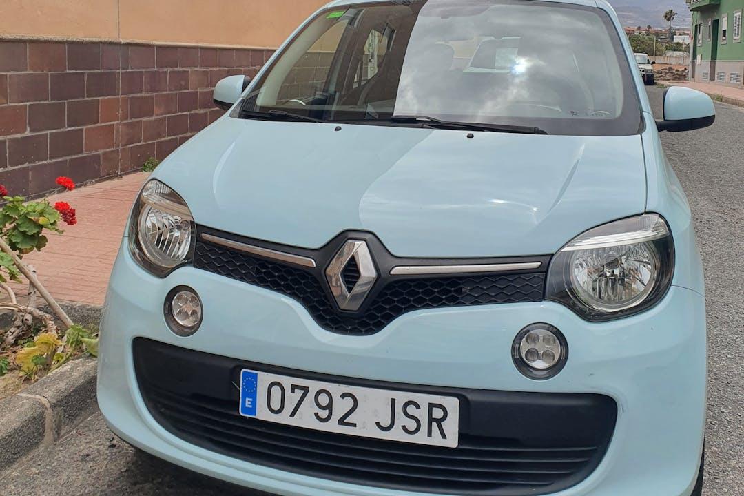 Alquiler barato de Renault Twingo con equipamiento Fijaciones Isofix cerca de 35213 La Pardilla.
