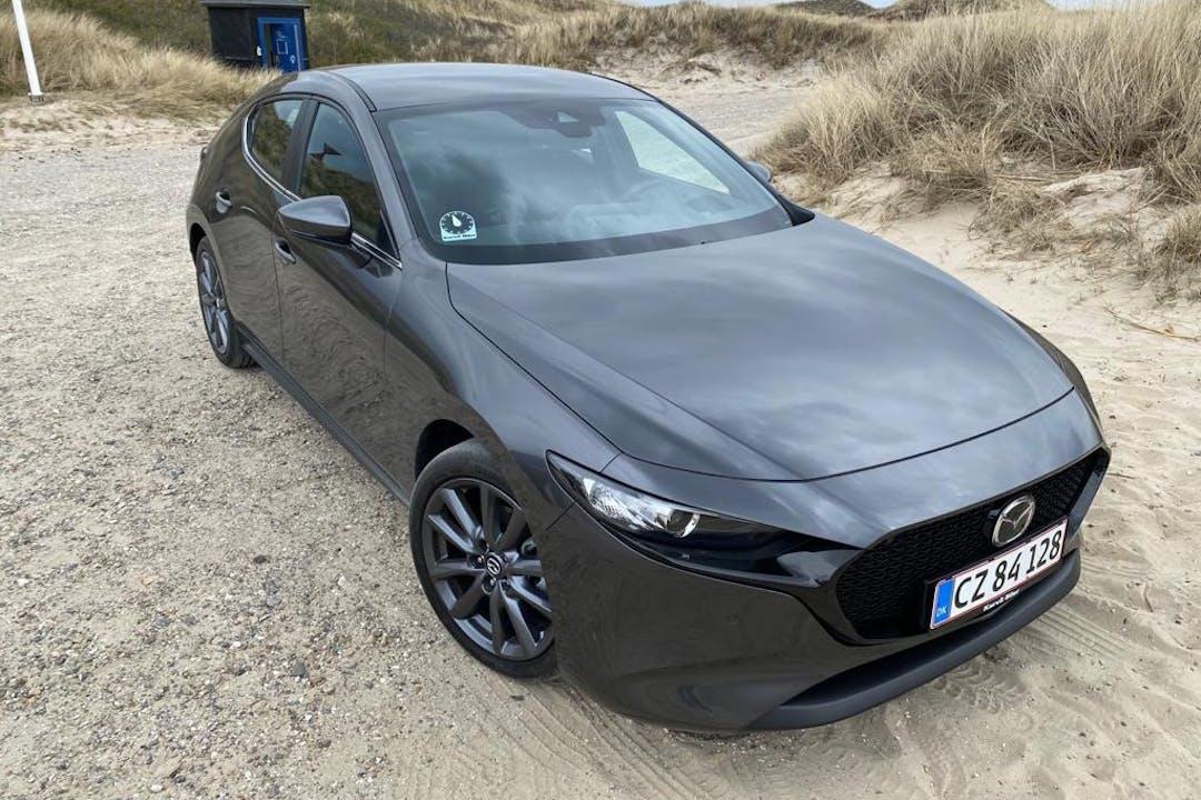 Billig billeje af Mazda 3 nær 8200 Aarhus.