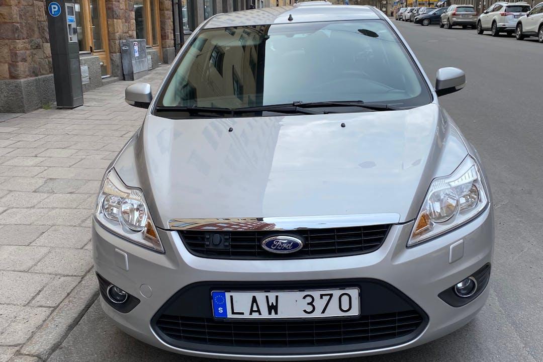 Billig biluthyrning av Ford Focus i närheten av  Södermalm.