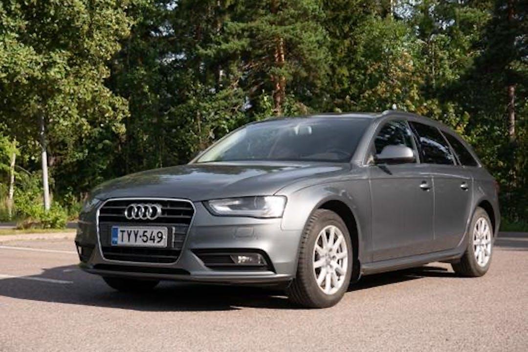 Audi A4 Avantn halpa vuokraus Isofix-kiinnikkeetn kanssa lähellä 00350 Helsinki.