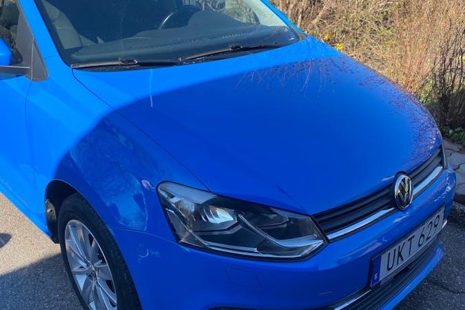 Billig biluthyrning av Volkswagen Polo i närheten av 756 46 Gottsunda-Vårdsätra.
