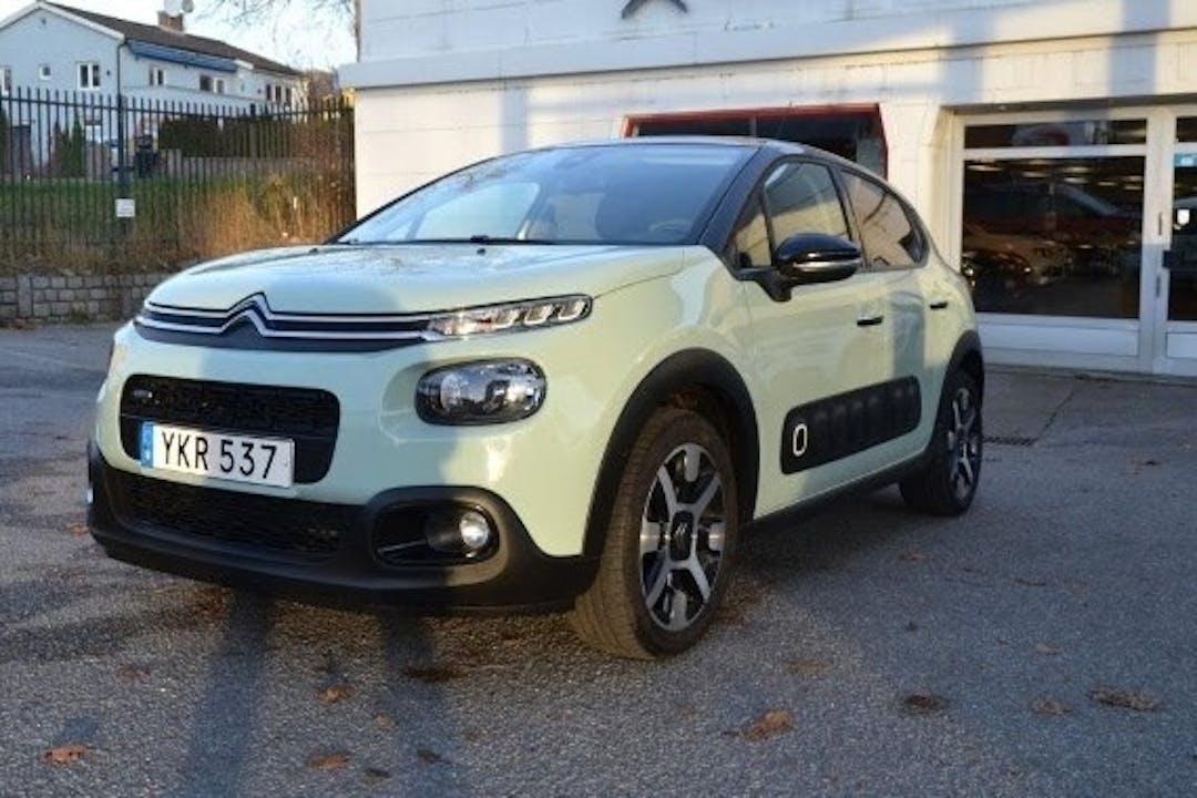 Billig biluthyrning av Citroën C3 i närheten av 414 79 Högsbo.