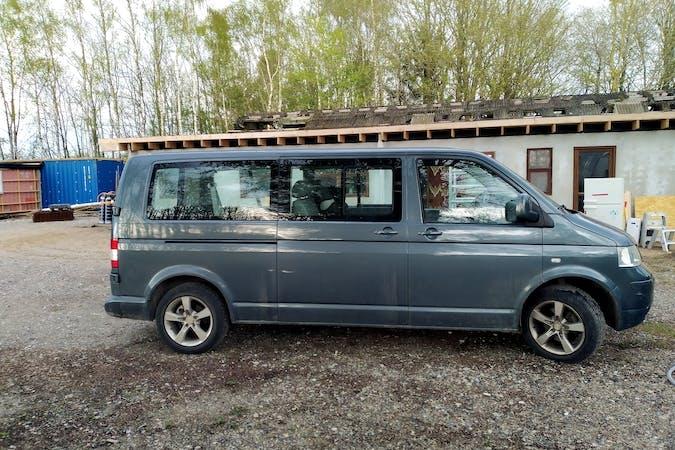 Billig billeje af Volkswagen Transporter med Anhængertræk nær 8543 Hornslet.