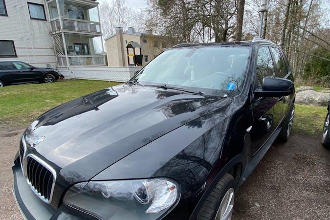 BMW X5n lalpa vuokraus lähellä 00200 Helsinki.