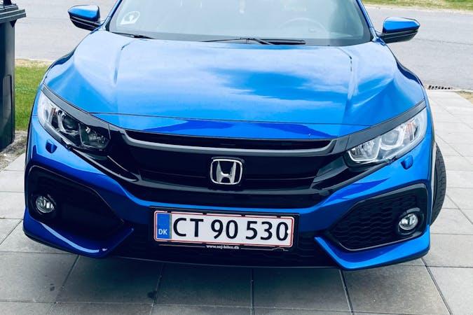 Billig billeje af Honda Civic med GPS nær 7400 Herning.