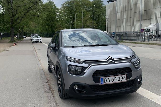 Billig billeje af Citroën C3 med Isofix beslag nær 2200 København.