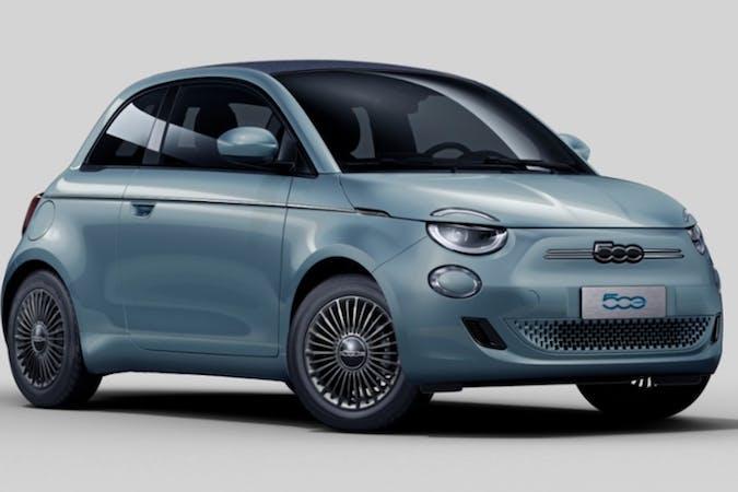 Billig biluthyrning av Fiat 500E Cabrio med GPS i närheten av 112 46 Kungsholmen.