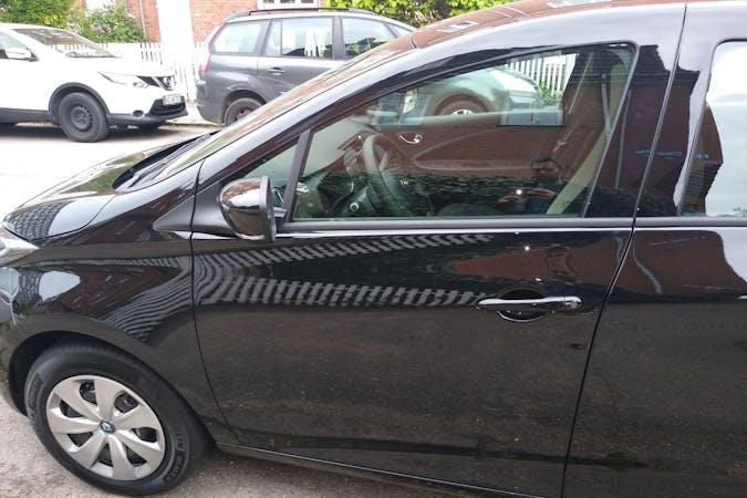 Billig billeje af Renault Zoe med Isofix beslag nær 2100 København.