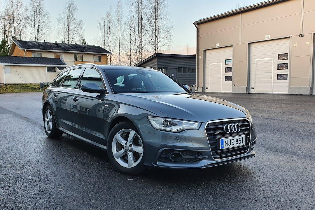 Audi A6 Avantn halpa vuokraus Isofix-kiinnikkeetn kanssa lähellä 04340 .
