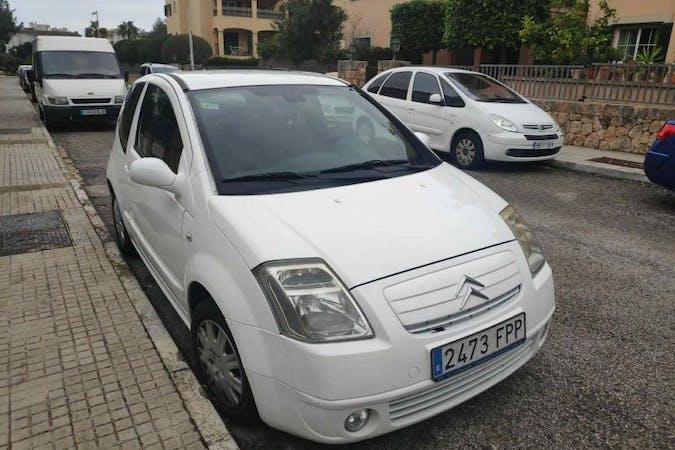 Alquiler barato de Citroën C2 cerca de 07611 Palma.