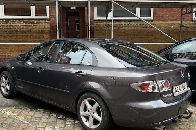 Billig billeje af Mazda 6 med Isofix beslag nær 2200 København.