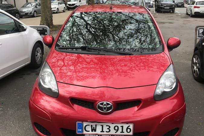 Billig billeje af Toyota AYGO nær 5000 Odense.