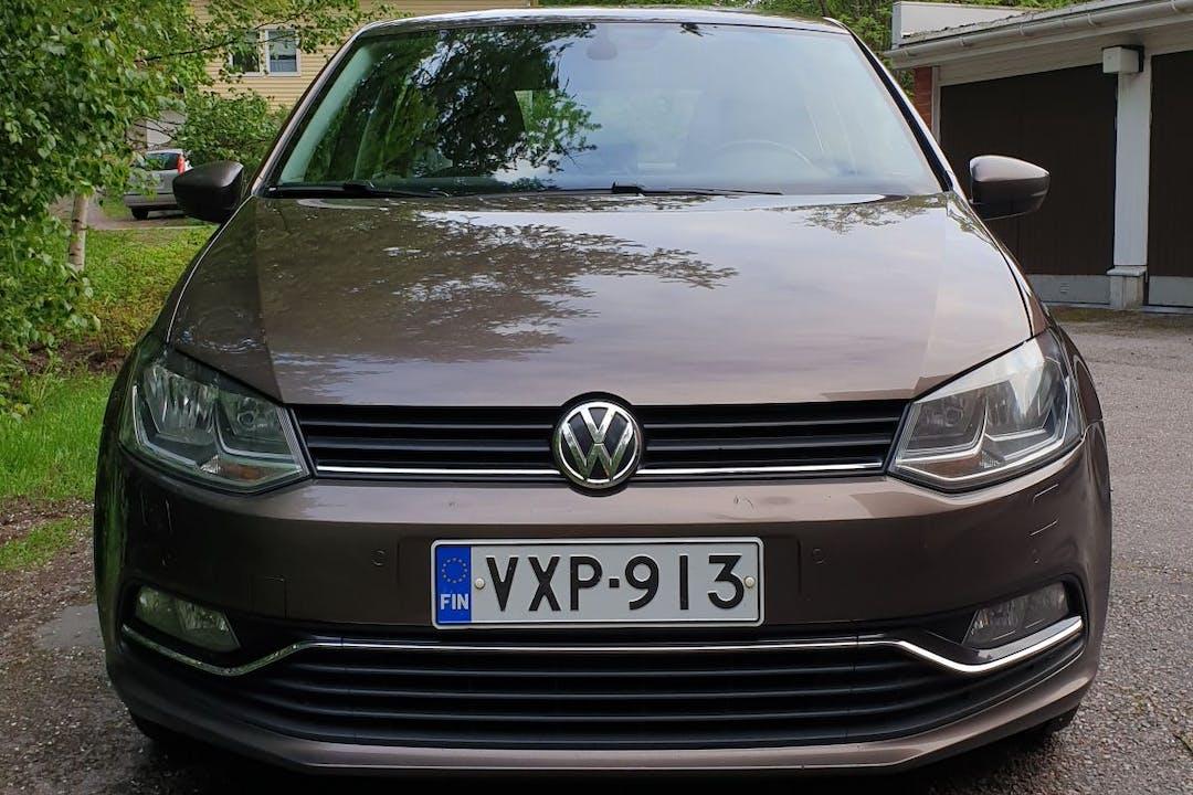 Volkswagen Polon halpa vuokraus Isofix-kiinnikkeetn kanssa lähellä 00640 Helsinki.