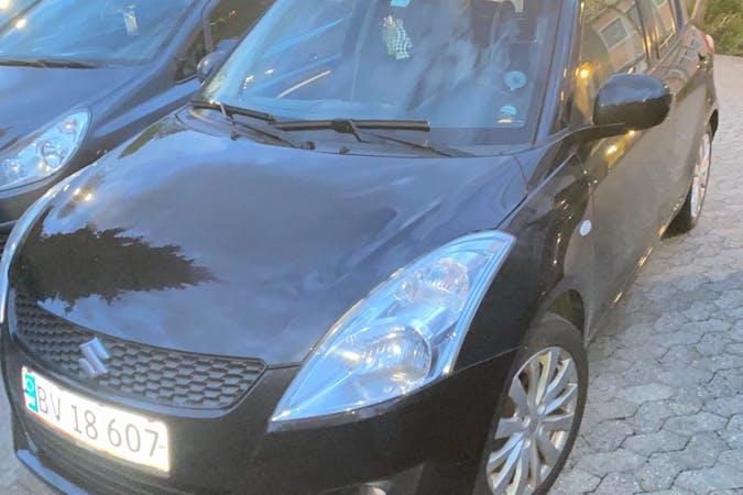 Billig billeje af Suzuki Swift med GPS nær 5200 Odense.