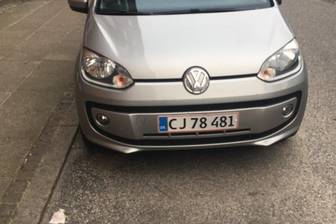 Billig billeje af Volkswagen UP! med GPS nær 9000 Aalborg.