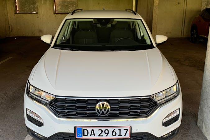 Billig billeje af Volkswagen T-Roc med Isofix beslag nær 2100 København.