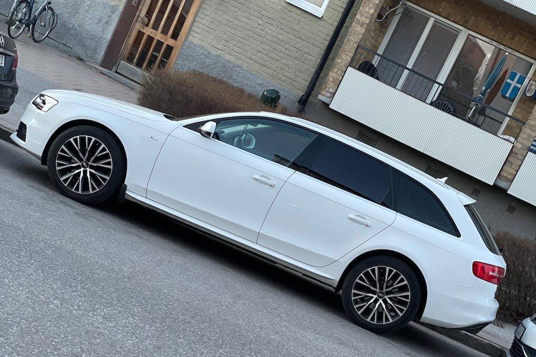 Billig biluthyrning av Audi A4 Avant i närheten av  Centrala Södertälje.
