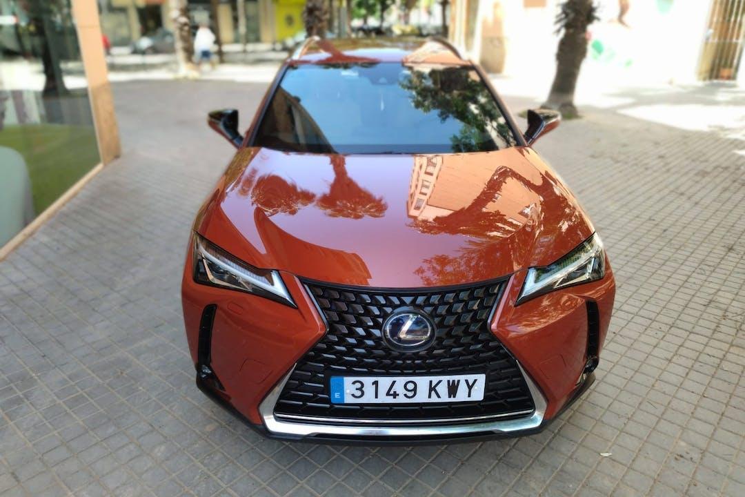 Alquiler barato de Lexus NX cerca de 46117 el Mas de Camarena.