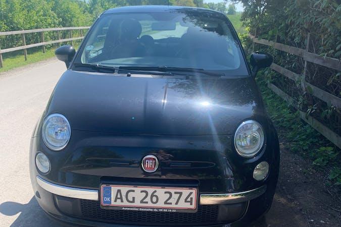 Billig billeje af Fiat 500 nær 3000 Helsingør.