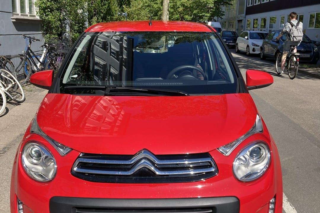 Billig billeje af Citroën C1 nær  København.