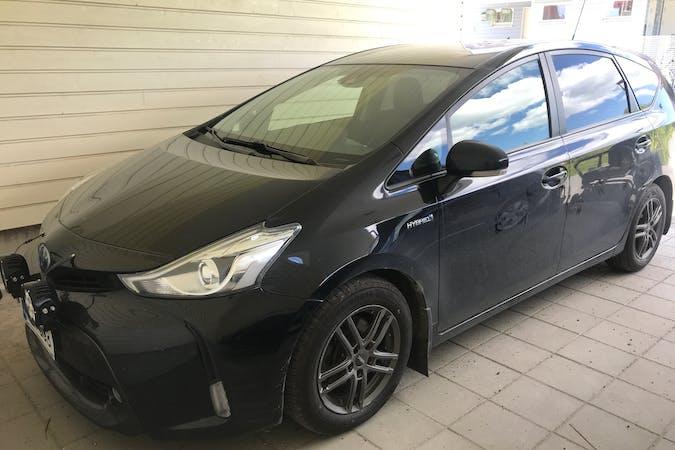Toyota Prius+n lalpa vuokraus lähellä 33870 Tampere.