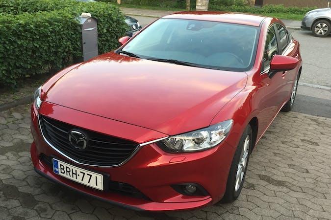 Mazda 6n halpa vuokraus Isofix-kiinnikkeetn kanssa lähellä 00660 Helsinki.