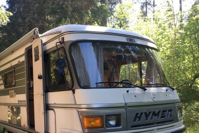 Billig billeje af Hymer Exsis nær 8220 Brabrand.