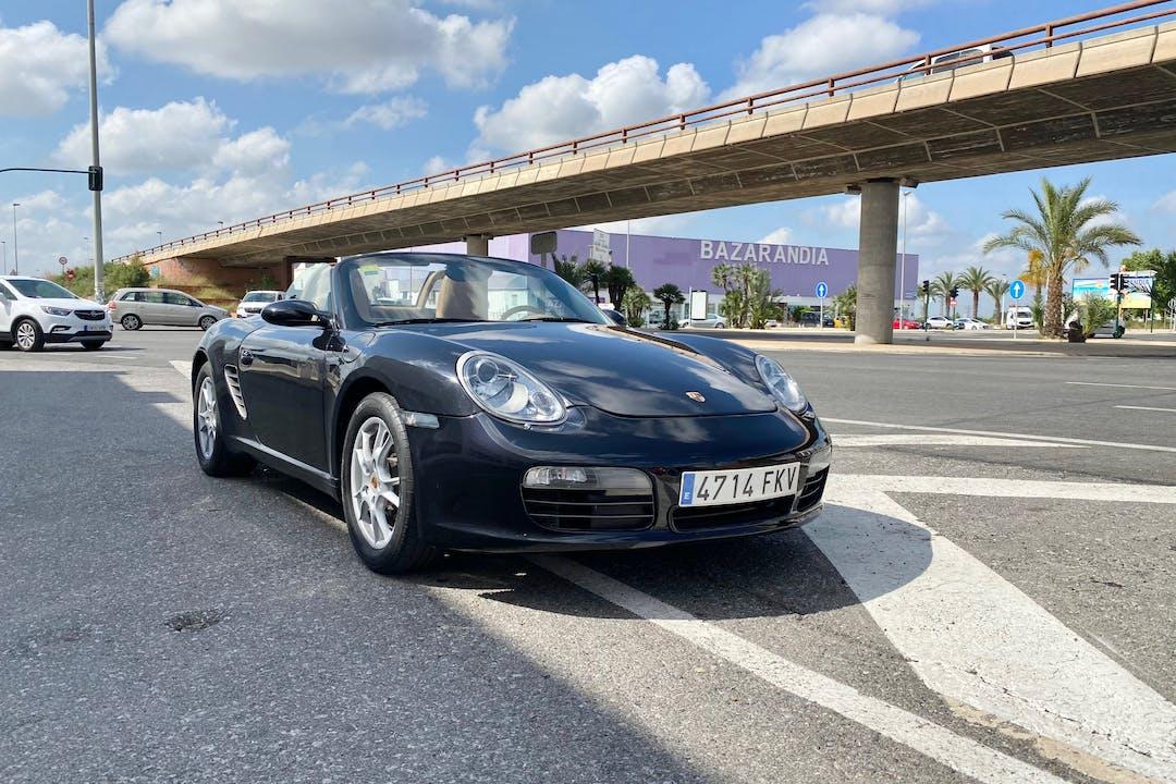 Alquiler barato de Porsche Boxster cerca de  Elche.