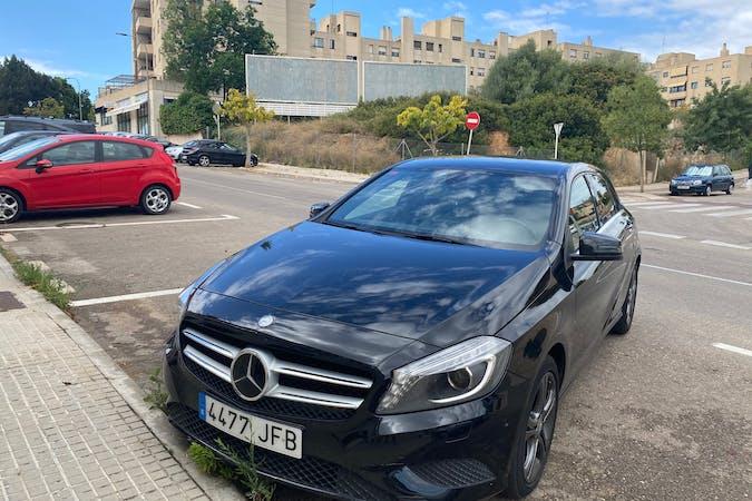 Alquiler barato de Mercedes A-Class con equipamiento Bluetooth cerca de 07014 Palma.