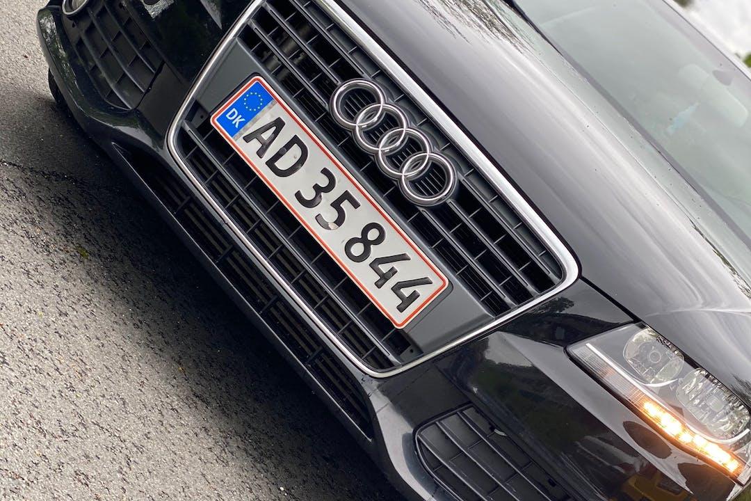 Billig billeje af Audi A4 med Isofix beslag nær 3500 Værløse.