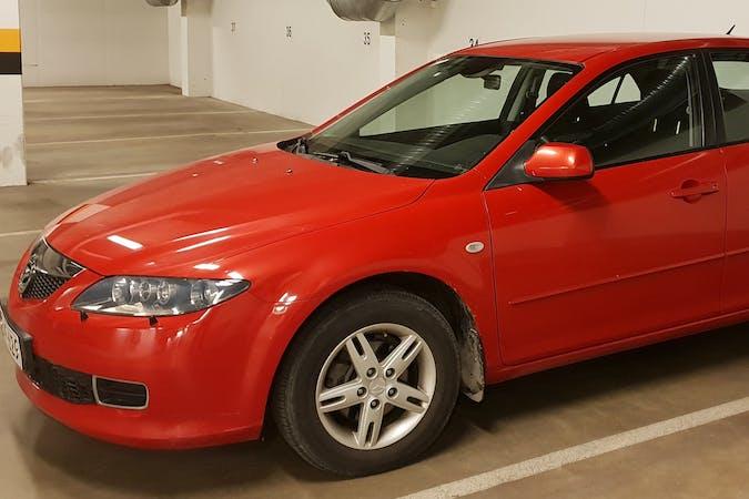 Mazda 6n halpa vuokraus Isofix-kiinnikkeetn kanssa lähellä 10960 Hanko.