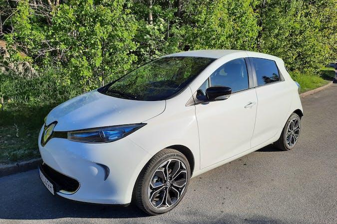 Billig biluthyrning av Renault Zoe med GPS i närheten av 126 39 Älvsjö.