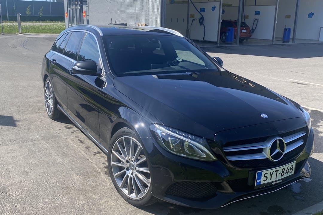 Mercedes C-Classn halpa vuokraus GPSn kanssa lähellä 02180 Espoo.