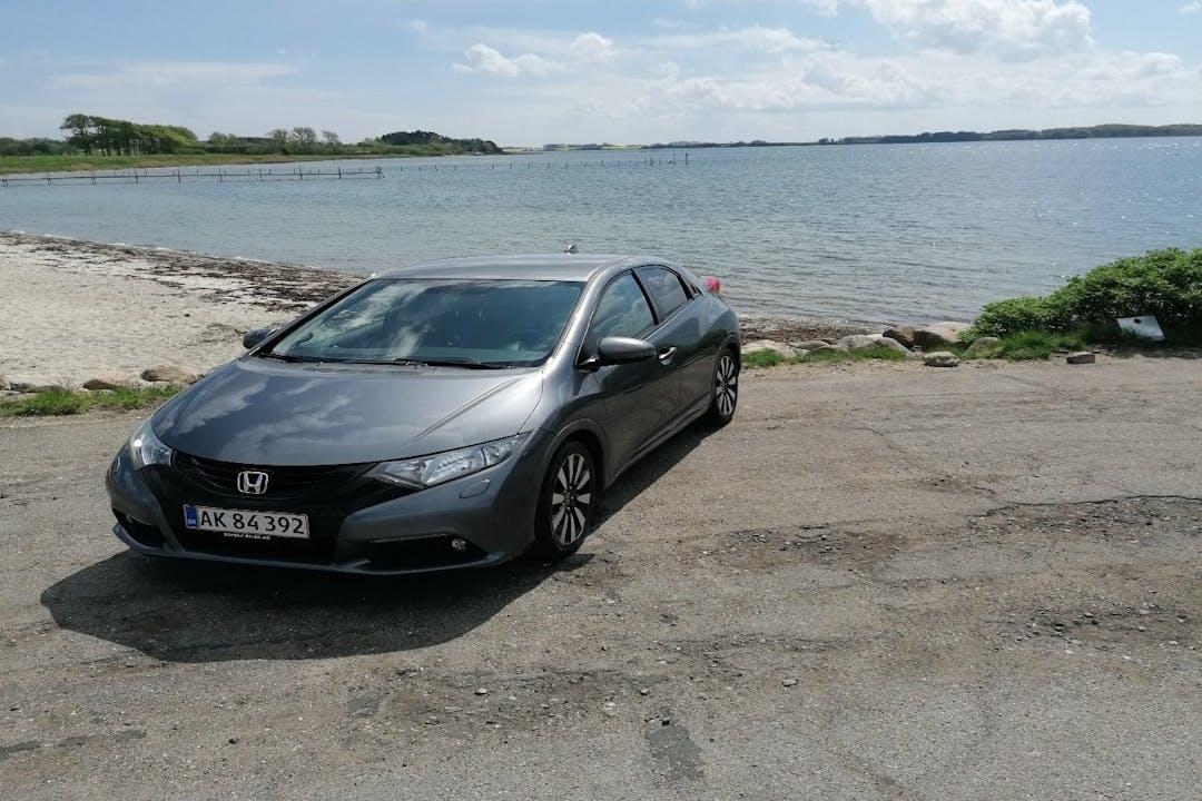 Billig billeje af Honda Civic nær 5580 Nørre Aaby.