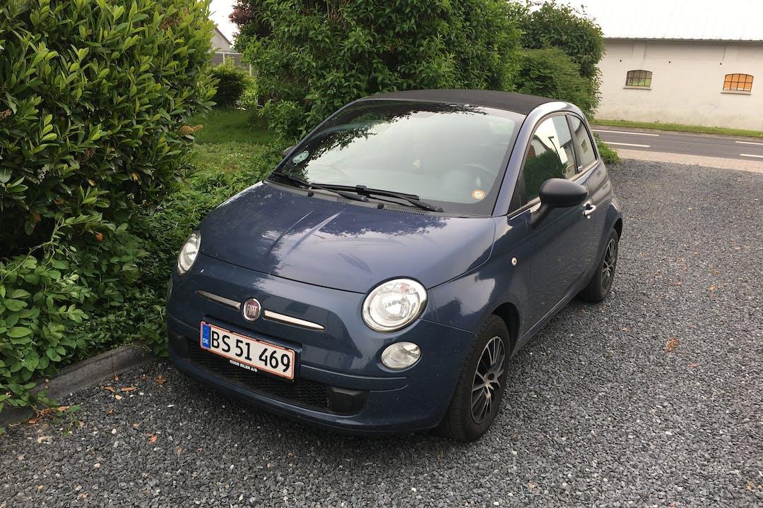 Billig billeje af Fiat 500C nær 9440 Aabybro.
